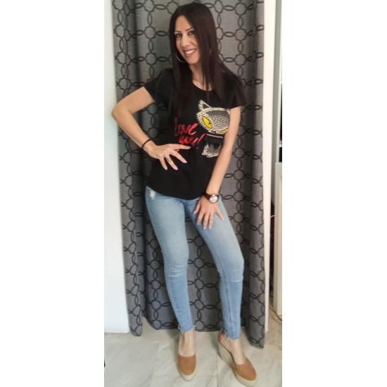 Black blouse Cotton