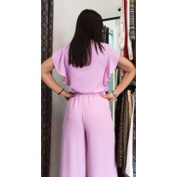 Set pants with blouse